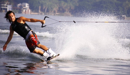 Wakeboarding In Denpasar Utara With Adi