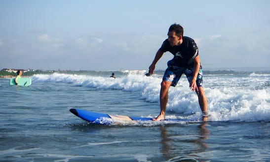 Surf Lessons In Kuta, Bali