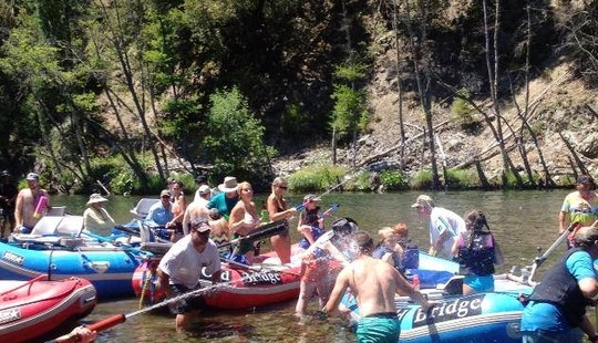 Rafting Fishing Trips For 7 Person On Trinity River In California