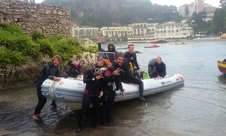 Scuba Diving Trips and Courses in Taormina