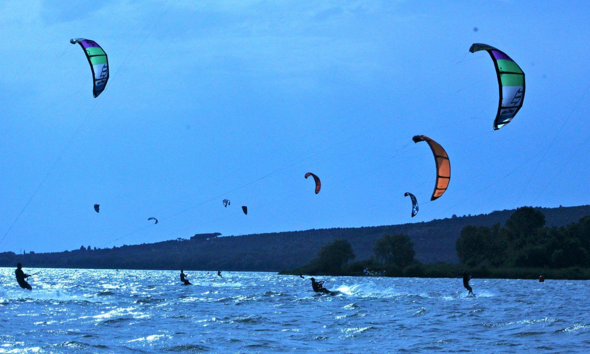 Kitesurfing Lessons in Castiglione del Lago
