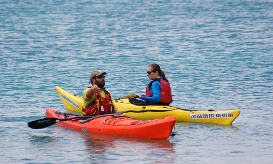 Single Kayak Rental And Courses In Canarias