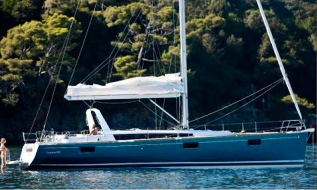 """""""Jazz"""" Oceanis 48 Cruising Monohull Charter in Podgorica"""