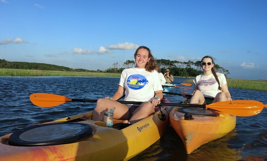 Rent A Single Kayak And Float In North Myrtle Beach,  South Carolina