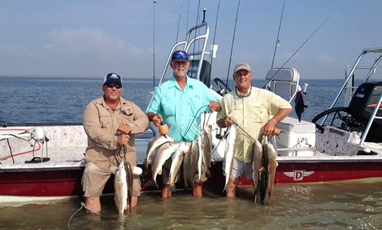 Center Console Fishing Charters In Harlingen, Texas