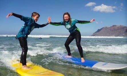 Surf Lessons in Los Mojones