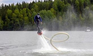 Flyboarding in Lahti, Finland