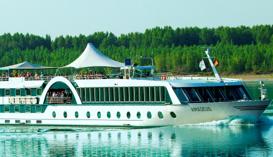 Elegant River Cruises In Innsbruck, Austria