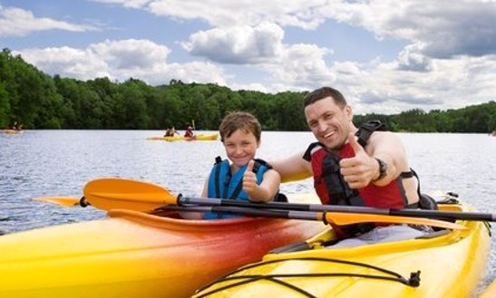 Single Kayak Rental In West Seneca, New York