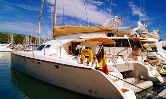 Nautitech 435 Cruising Catamaran Charters In Porto-vecchio Corse, France