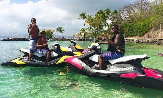 Jet Ski Rental In Les Trois-Îlets, Martinique