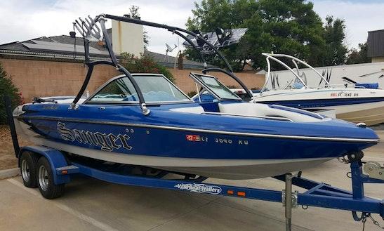 2012 Sanger V215 Wakeboard/ski Boat In Clovis