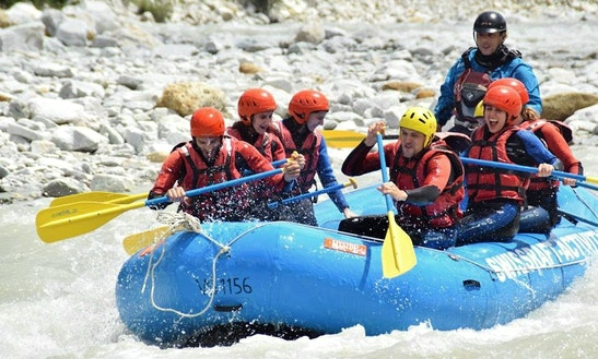 Rafting Trips In Sion, Switzerland
