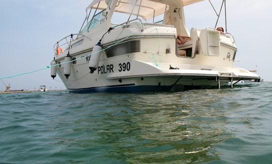 Power Mega Yacht For Rent In Santa Pola