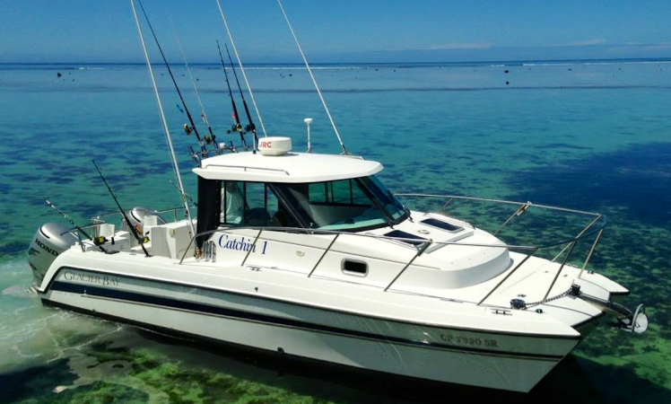 Glacier Bay Boats >> Glacier Bay 2680 Catamaran Fishing Charter In Queens Road Fiji
