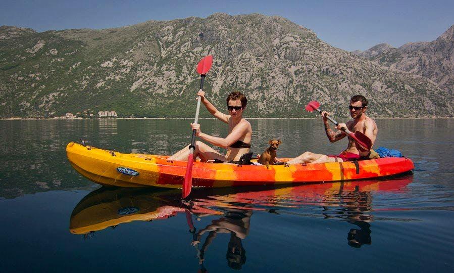 Double Kayak Tours and Rental in Kotor, Montenegro