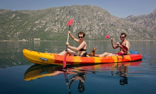 Double Kayak Tours And Rental In Kotor