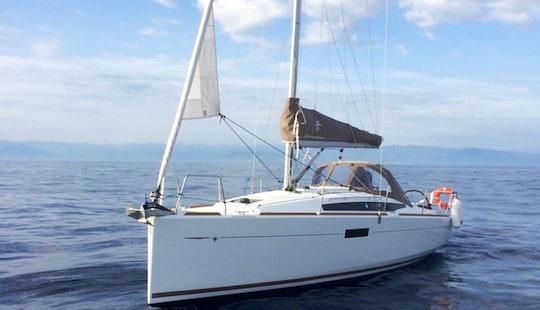 Sailing Yacht Charter Sun Odyssey 349