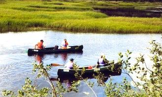 Canoe Trip in Kuusamo, Finland