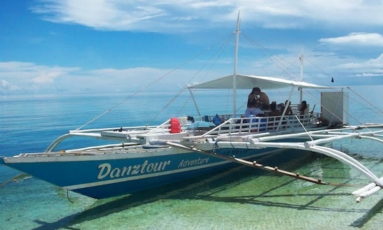 Charter A 30 Person Traditional Boat In Malapascua Island, Philippines