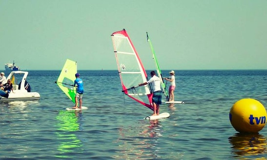 Windsurfing Lessons And Rental In Świnoujście