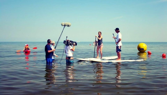 Paddleboard Lessons And Rental In Świnoujście, Poland