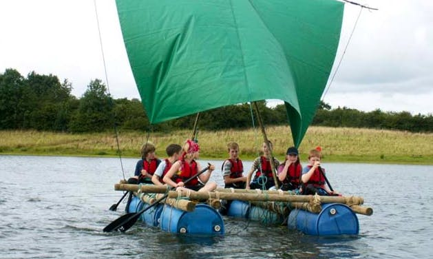 Raft Building Trips in Common Moor, United Kingdom