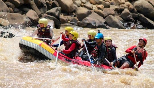 Rafting In Kamunting, Malaysia