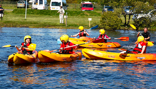 Single Kayaking Rental & Lessons In Common Moor