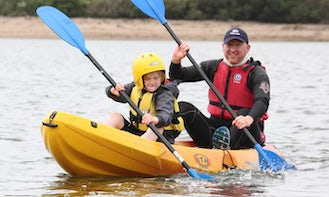 Double Kayaking Hire in Common Moor, United Kingdom