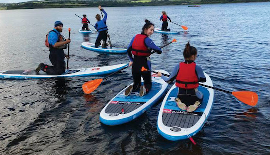 Stand Up Paddle Board Rental & Lessons In Common Moor, Uk