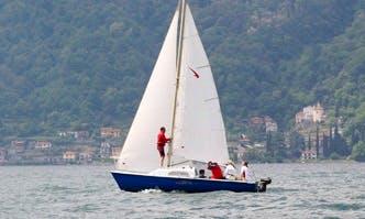 19ft Meteor Sailing Yacht Rental in Milan, Italy