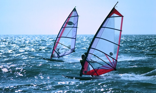 Windsurfing In Common Moor
