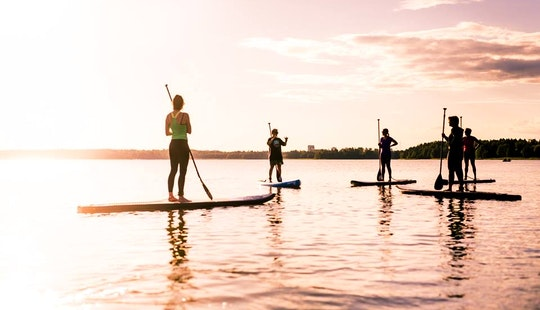 Stand Up Paddle Lessons In Helsinki, Finland