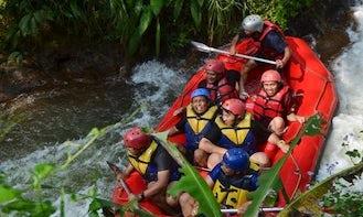 River Rafting in Lengkong, Indonesia