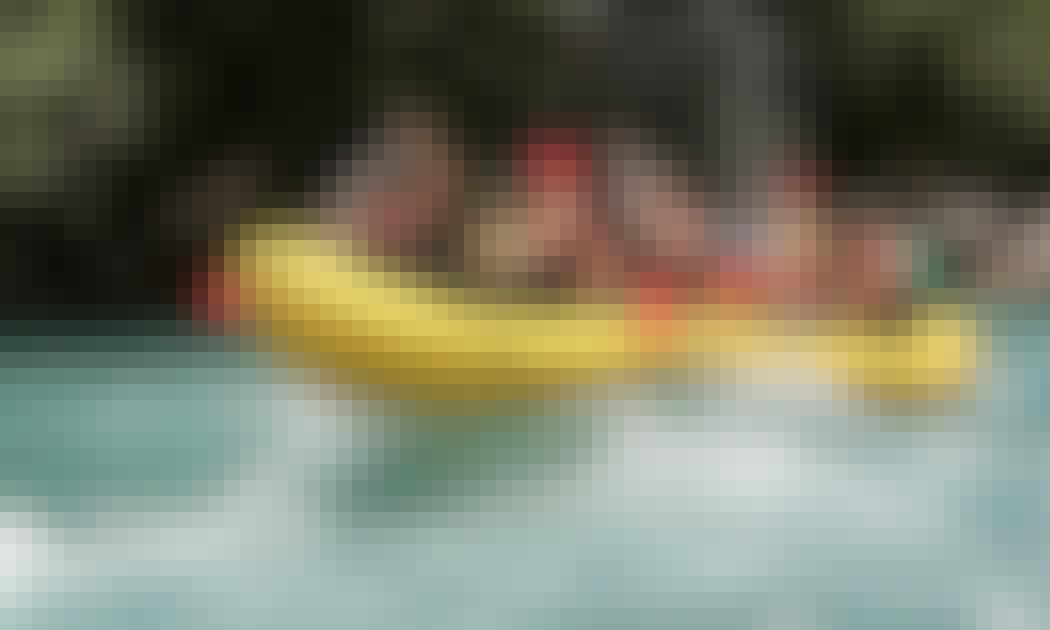 Rafting in Foča, Herzegovina