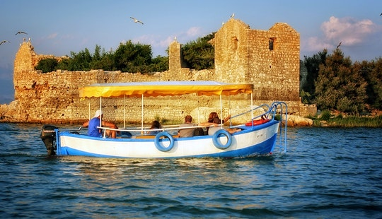 Boat Tour For Private Cruise, Enjoy Fishing, Birdwatching And Snacks Onboard In Montenegro