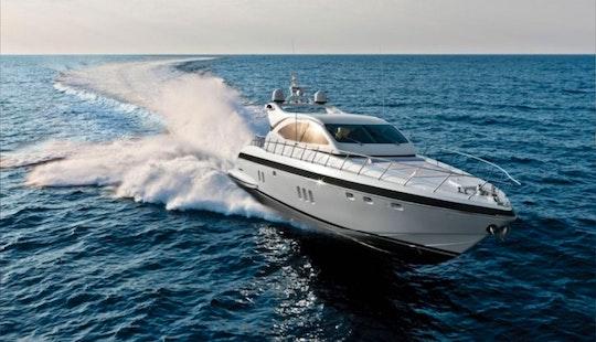 Yacht Charter - Power Mega Yacht Rental In Arzachena, Italy