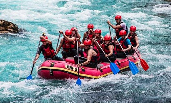 Whitewater Rafting Trips In Mungkid, Java, Indonesia