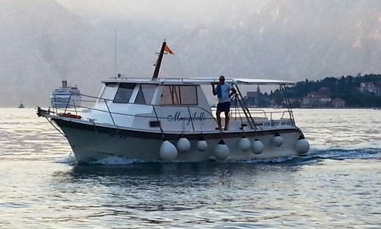 Passenger Boat Charter In Baosici, Montenegro For Private Tours