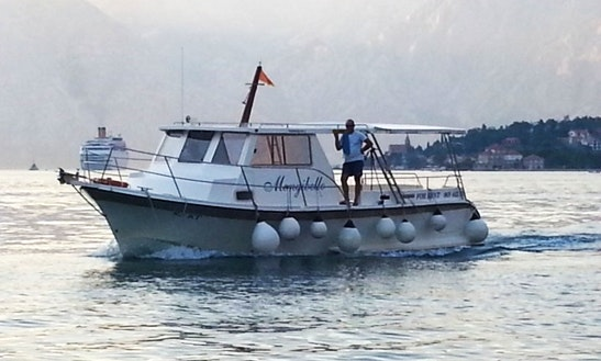 Passenger Boat Charter In Baosici, Montenegro