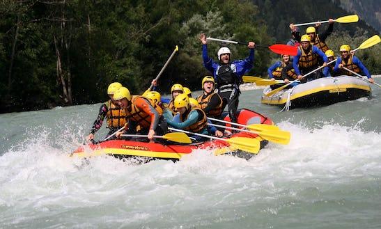 Exciting River Adventure In Gemeinde Sankt Johann Im Walde, Austria