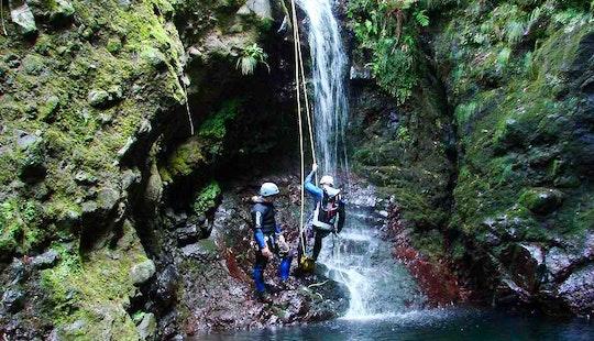 Awesome Canyoning Experience In Porto Moniz, Madeira