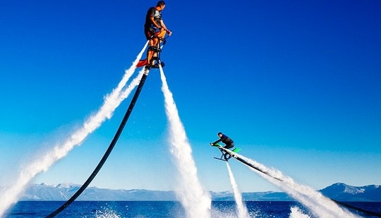 Try Flyboarding On The Jetovator In Tahoe City, California