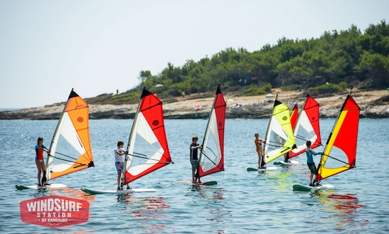 Windsurfing Courses And Rental In Premantura
