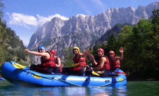 Great Rough Water Rafting Adventure In Landl, Austria For Up To 6 Persons