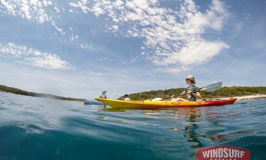 Single Kayak Rental And Excursions In Premantura
