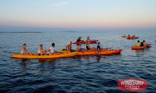 Triple Kayak Rental In Premantura