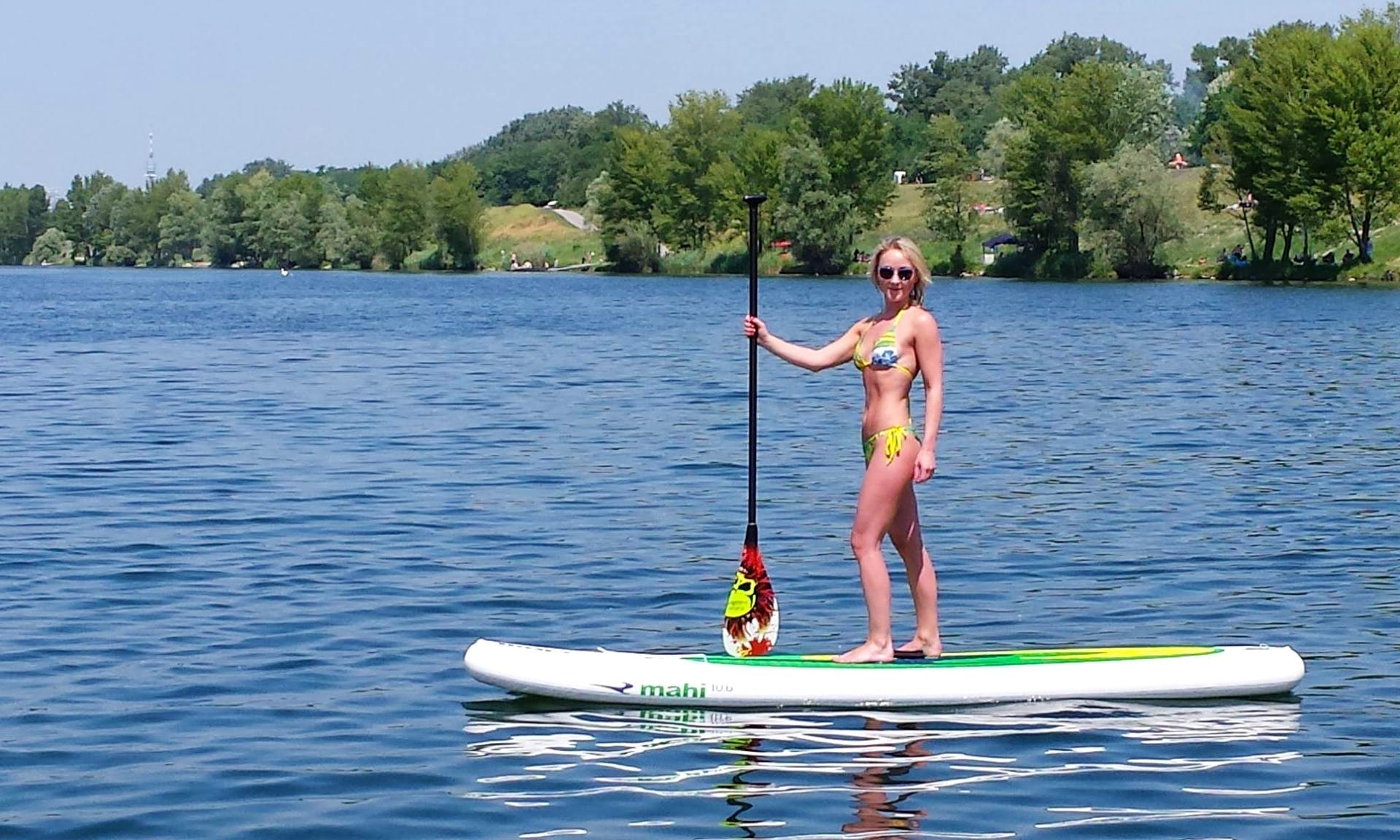 Paddleboard Rental in Wien, Austria