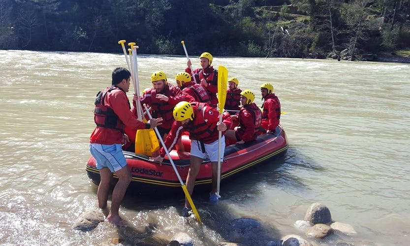 Remarkable Rafting Experience in Antalya, Turkey
